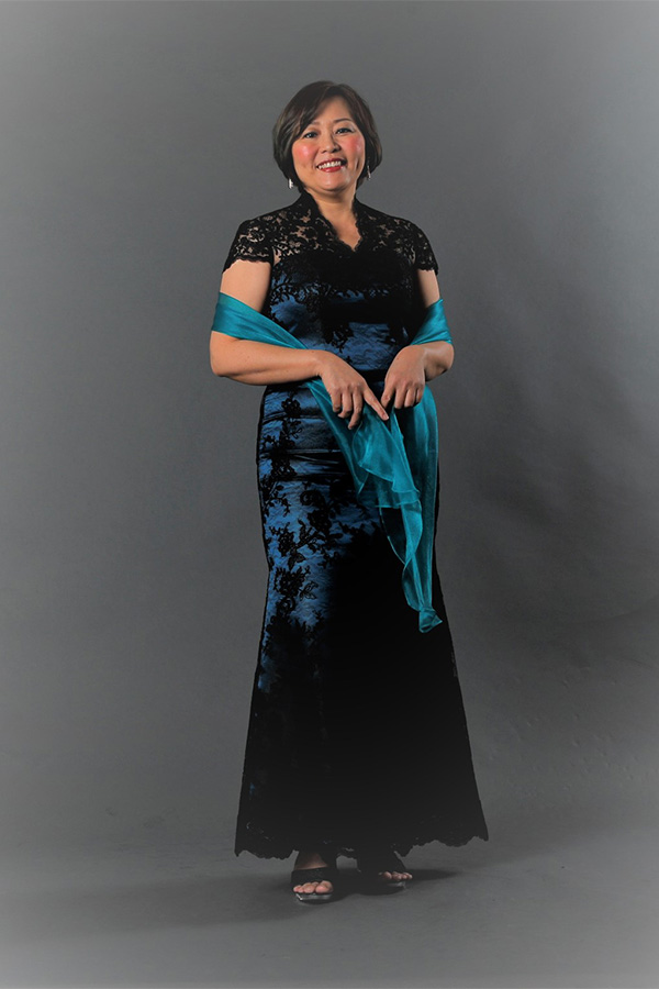 Black embriodery Tulle classic mother-of-bride-groom evening gown plus size