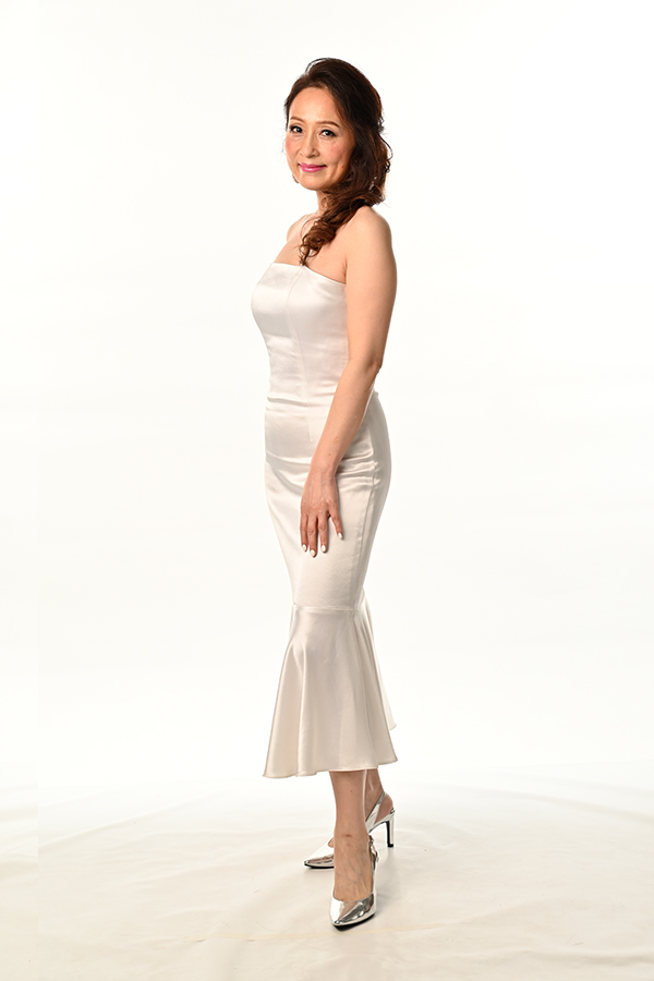 Bustier Dress with Frills Bridesmaid Dinner&Dance